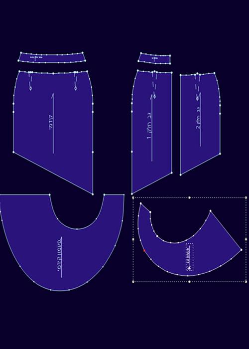 קורס תדמיתנות ממוחשבת בתוכנת OptiTex