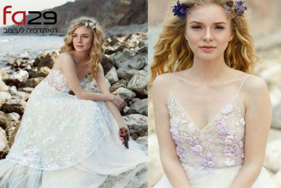 תמונה מתוך קורס עיצוב שמלות כלה וערב
