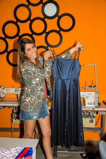 תמונה מתוך קורס עיצוב אופנה לימודים במכללה לאופנה