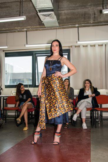 תמונה מתוך קורס עיצוב אופנה לימודים באקדמיה לאופנה
